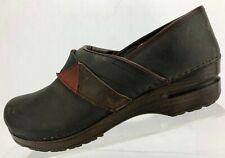 Sanita Professional Clogs Patch Band Gray Nursing Work Shoes Womens 39 US 8/8.5