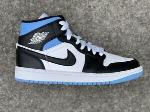 Nike WMNS Air Jordan 1 Mid University Blue White BQ6472-102 Sizes
