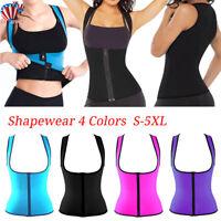 55f3b7040b US Womens Plus Size Tummy Belly Girdle Cincher Vest Waist Trainer Body  Shaper