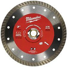 Milwaukee 49 93 8018 7 Diamond Premium Turbo Saw Blade