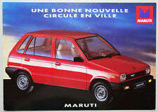 V13986 MARUTI 800 - DEPLIANT - NON DATE - A4 - FR FR