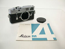 Leica m4 m-4 Classic Mechanic Rangefinder Premium GERMANY Body chassis/17
