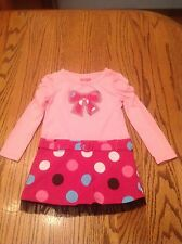Buster Brown Girls Dress Pink Long Sleeves Size 24 Months