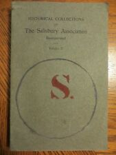 Historical Collections Relating to the Town of Salisbury...CT,  V.II