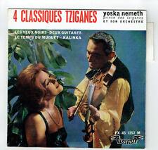 """Yoska NEMETH Tzigane Vinyle 45T EP 7"""" 4 CLASSIQUES TZIGANES -FESTIVAL 1257 RARE"""