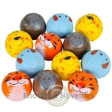 "Dozen 2"" Zoo Animal Stress Balls Favor Party Gift Bag Fillers Prize Prizes 12"