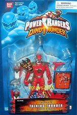 "Power Rangers Dino Thunder Triassic Talking Ranger New 5."" Factory Sealed 2003"