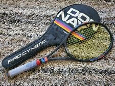 New listing Donnay Pro Cynetic 12 light 4 racquet made in Belgium 4 3/8?Grip + Original Case