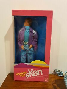 Vintage Mattel Ken Barbie Western Fun