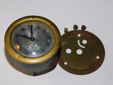 ANCIEN mini horloge ENCASTRABLE ronde MONTRE pendule old watch CLOCK alte uhr