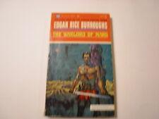 The Warlord of Mars, Edgar Rice Burroughs, Ballantine, 50c