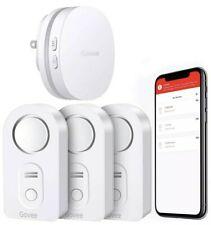Govee Water Detectors 3 Wireless Water Sensor Leak Detector with RF WiFi Gateway