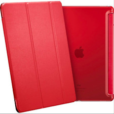Smart Magnetic Stand Leather Folding Folio Hard Back Cover Case for iPad