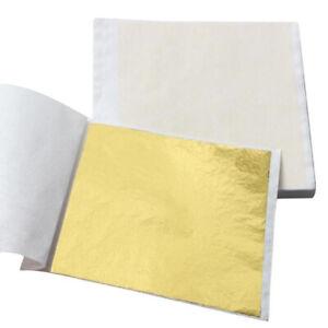 Blattgold 50 x Schlagmetall + 50ml  Kreul Anlegemilch 85mm x 85mm NEU TOP Preis
