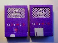 """(2) Decks Of Casino Playing Cards """"Hard Rock Casino"""" Lake Tahoe, Nevada sealed"""