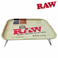 RAW Smoking Papers Lap Rolling Tray With Legs Size XXL