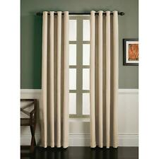 Essential Home One Faux Linen Grommet Panel - Natural