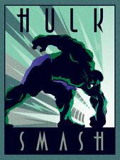Marvel Deco-Hulk-Ready encadrée Toile