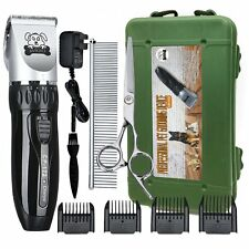 Electric Pet Clippers Dog Hair Trimmer Andis Shaver Groom Shears Animal Kit Fast
