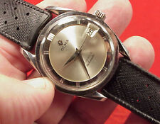 Rare 34MM Vintage OLMA  Super-Compressor Automatic Date Swiss Man's Watch RUNNI