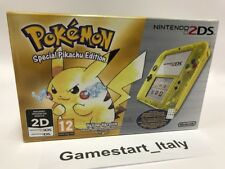 CONSOLE NINTENDO 2DS TRANSPARENT YELLOW SPECIAL PIKACHU EDITION NEW PAL VERSION