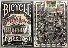 US Presidents Democratic Blue Deck Bicycle Playing Cards Poker Size USPCC Sealed