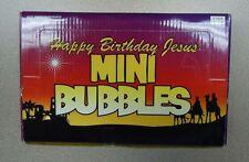 Happy Birthday Jesus Mini Bubbles - Box of 24 - 4/1928 - NEW IN BOX
