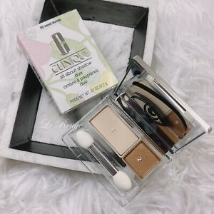 Clinique All About Shadow Duo 02 Sand Dunes (neutral shimmer) New full size