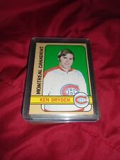 KEN DRYDEN  72-73 TOPPS 1972-73 Card #160 Montreal Canadiens