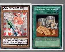 Yugioh Cards - Emergency Provisions RP02-EN055