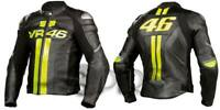 VR-46 Motorbike Leather Jacket