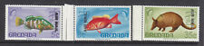 Grenada 1972 3x Air Mail overprints all double prints MNH