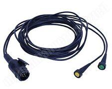 Aspöck Kabelsatz Anhängerkabel mit Bajonettanschluss 58-2008-017 13pol. 4m