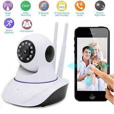 720P HD Inalámbrica Wifi Cámara de Vigilancia Seguridad Monitor Visión Nocturna