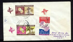 Paraguay 1965 BOY SCOUTS REGISTERED COVER > U.S.