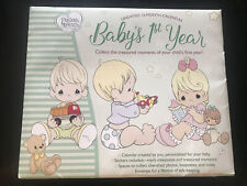 Precious Moments Undated Baby's 1st Year Memory Milestone Calendar