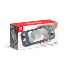 Brand New Nintendo Switch Lite Handheld Console 32GB Gray in Hand