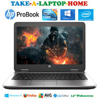 HP EliteBook Gaming Laptop Core i5 3.3GHz Windows10 Fast SSD Office Comes Boxed