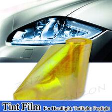 "Chameleon Neo Gold Yellow 12""x60"" Headlight Taillight Fog Light Vinyl Tint Film"