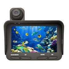 "20m 4.3"" Monitor Night Vision Underwater Fish Finder Dual Camera DVR Video W1YX1"