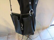 Rebecca Minkoff Large Megan Shoulder Bag - Black leather