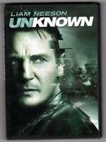 Unknown (DVD, 2011) Liam Neeson, Diane Krüger  *** free shipping ***