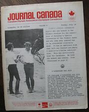 1976 Canadian Olympic Association Newsletter (Coca-Cola) Equestrian, Boxing, etc