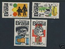 Brazil - Set - Mint - Scott 1268 - 1271