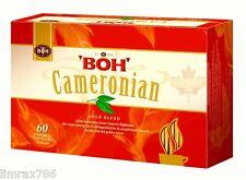 BOH Plantation CAMERONIAN GOLD BLEND ORIGNAL TEA 60 Teabag Foil Sealed Fresh