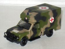 Russian Vaz-2121 Lada - Niva Military Ambulance Truck 4x4 1/43 USSR Army CCCP