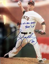 """Ryan Vogelsong signed Inscribed """"Beat LA"""" 11x14 photo #3 - PSA Auth - SF Giants"""