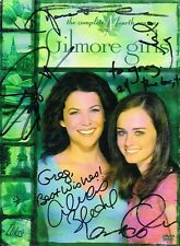 Gilmore Girls Cast SIGNED DVD by 6 Alexis Bledel Lauren Graham Milo Scott COA