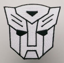 "TRANSFORMERS ""AUTOBOT"" Logo"" Iron-On Patch - PICK 'N' MIX - #2B07"