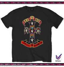 GUNS N ROSES T-SHIRT APPETITE FOR DESTRUCTION XL 100% PURE COTTON MADE IN UK